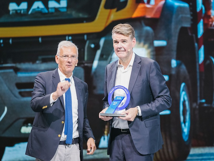 Проект MAN aFAS удостоился новой премии Truck Innovation Award на международной выставке коммерческого транспорта IAA 2018